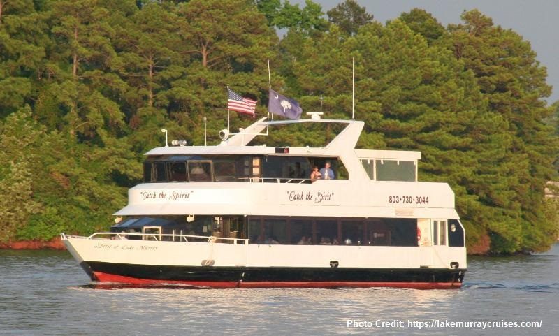 Spirit of Lake Murray cruise