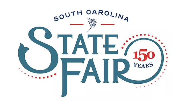 south carolina state fair 150 anniversary logo